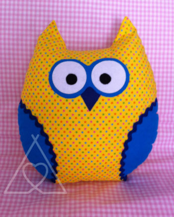 OWL CHUSH A e1438540217771 570x7081 350x435 - Owl Cushion