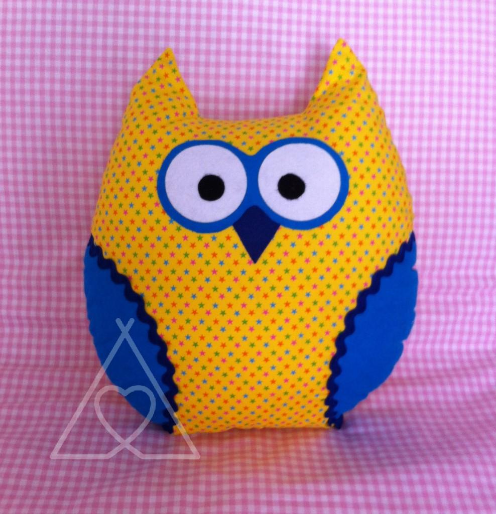 OWL CHUSH A e1438540217771 570x7081 988x1024 - Owl Cushion