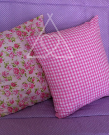 SCATTER MAIN 570x708 350x435 - Personalised Childrens Teepee Scatter Cushions - Floral Fabrics