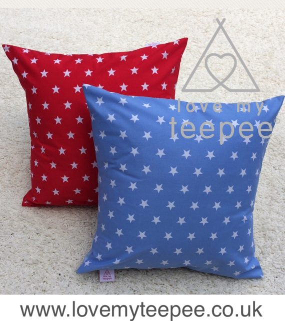 FullSizeRender 16 570x643 - Personalised Childrens Scatter Cushions - Large Stars Fabric