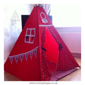 Childrens nottingham forest teepee
