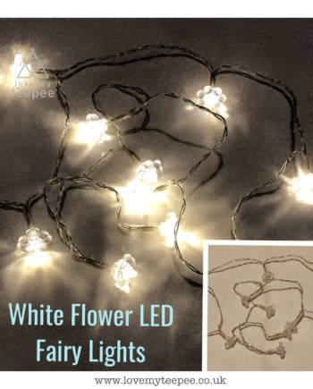IMG 1010 350x435 - Battery Operated White Warm Glow Flower LED Fairy Lights Teepee Topper