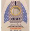 Appliqued rocket teepee