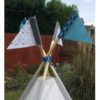 IMG 1951 100x100 - Outer Space & Rockets Teepee Set Childrens Personalised From
