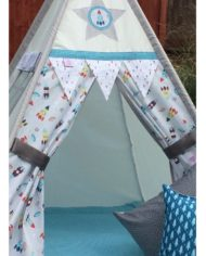 Outer space and rockets teepee set childrens