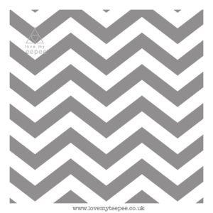 grey zig zags cushion cover