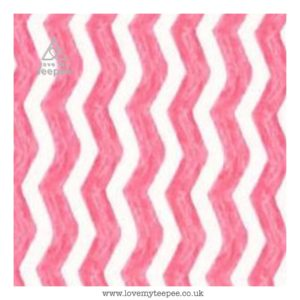 pink water chevrons cushion cover