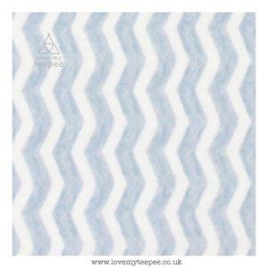 grey & white water chevrons cushion cover