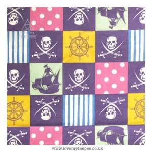 jolly roger floor cushion