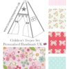 IMG 2750 100x100 - Floral Butterflies (2) Teepee - Mat - Cushions
