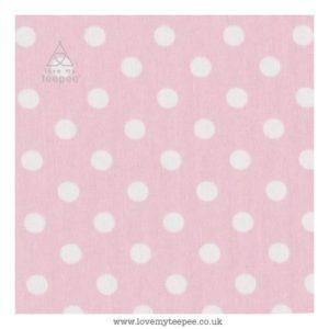 pink spot floor mat