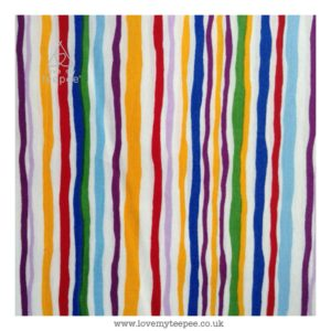 wavy stripe cushion cover
