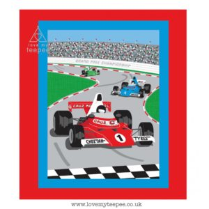 formula one car floor mat – limited to 1 per order