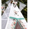 kids knight teepee tent