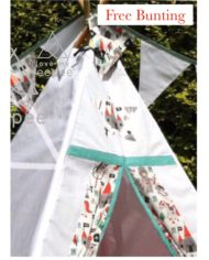 Little knights teepee set
