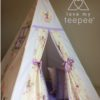 sanderson fairyland forest teepee trimmed in lilac