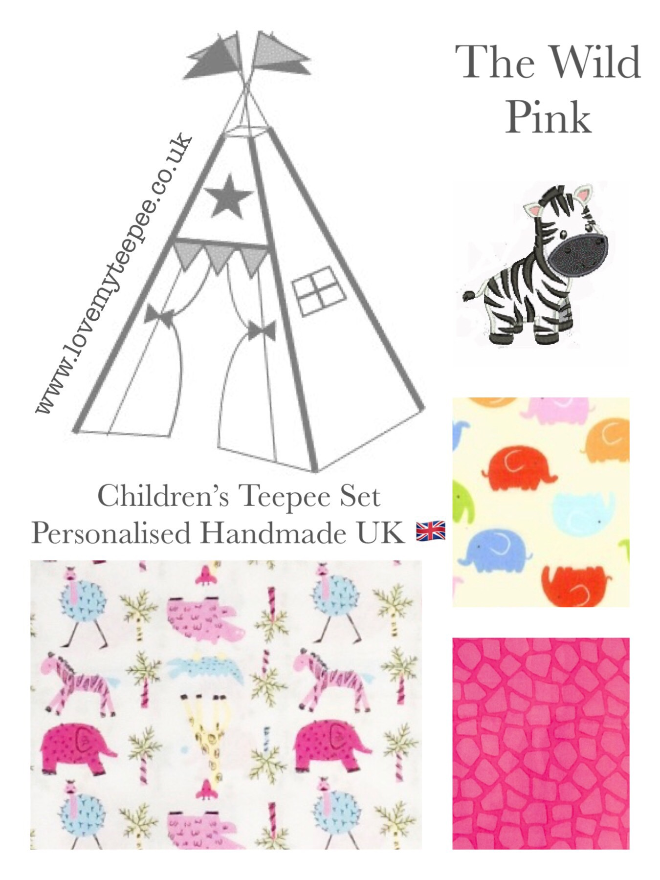 The Wild Pink Teepee Mat Cushions Love My Teepee