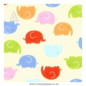little elephants on lemon cushion cover
