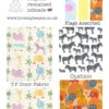 the wild jungle animals childrens lemon teepee fabric collection