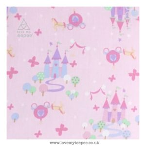 princess pink fairytale cushion cover