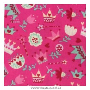 candy pink crown  floor cushion
