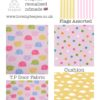 kids teepee tent elephant fabric collection pink and lemon