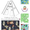 pixar Disney toy story buzz lightyear kids teepee tent fabric collection