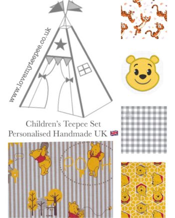 disney winnie the pooh kids teepee tent fabric collection nursery