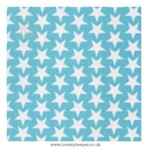 aqua stars cushion cover