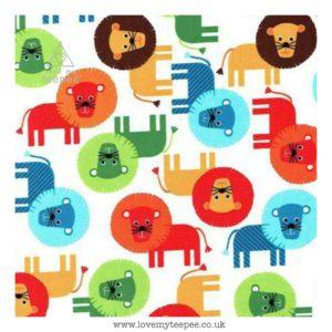 bermuda lion cushion cover