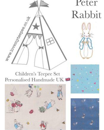 IMG 7289 350x435 - Peter Rabbit Nursery Teepee - Mat - Cushions