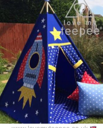 IMG 7854 350x435 - Rocket Star Appliquéd Teepee - Mat - Cushions